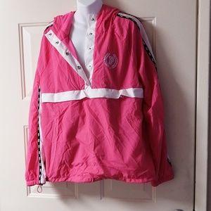 Pink victoria secret jacket sport size M/L